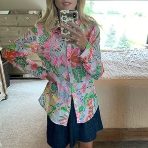 Lily long sleeve button down